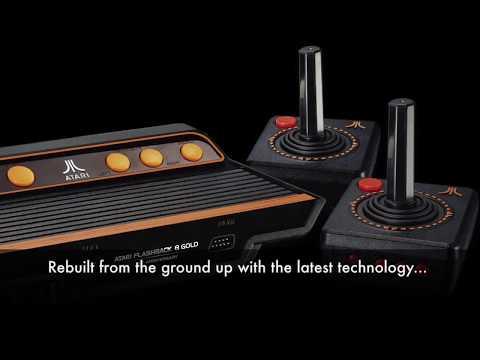 Classic Atari 2600 and Sega Mega Drive Consoles Continue