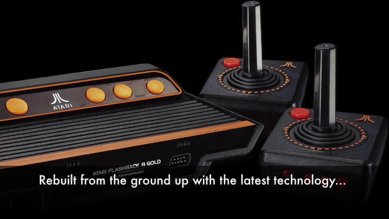 Atari Flashback 8 Gold Dozens Of Atari 2600 Games In One Hd