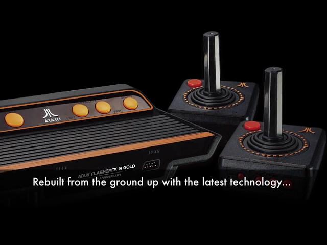 Atari Flashback 8 Gold Se Apunta A La Moda Retro Con Hdmi Mandos