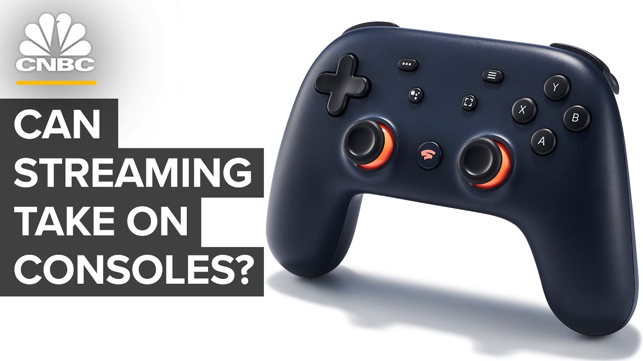 Can Google Stadia Compete With Video Game Consoles? - CNBC thumbnail