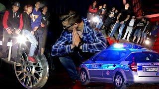 POLICJA WPADŁA NA PLAN TELEDYSKU