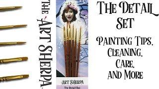 Temizleme fırçası Bakım Vuruş oluşturma sanat Sherpa Detay Fırçaları