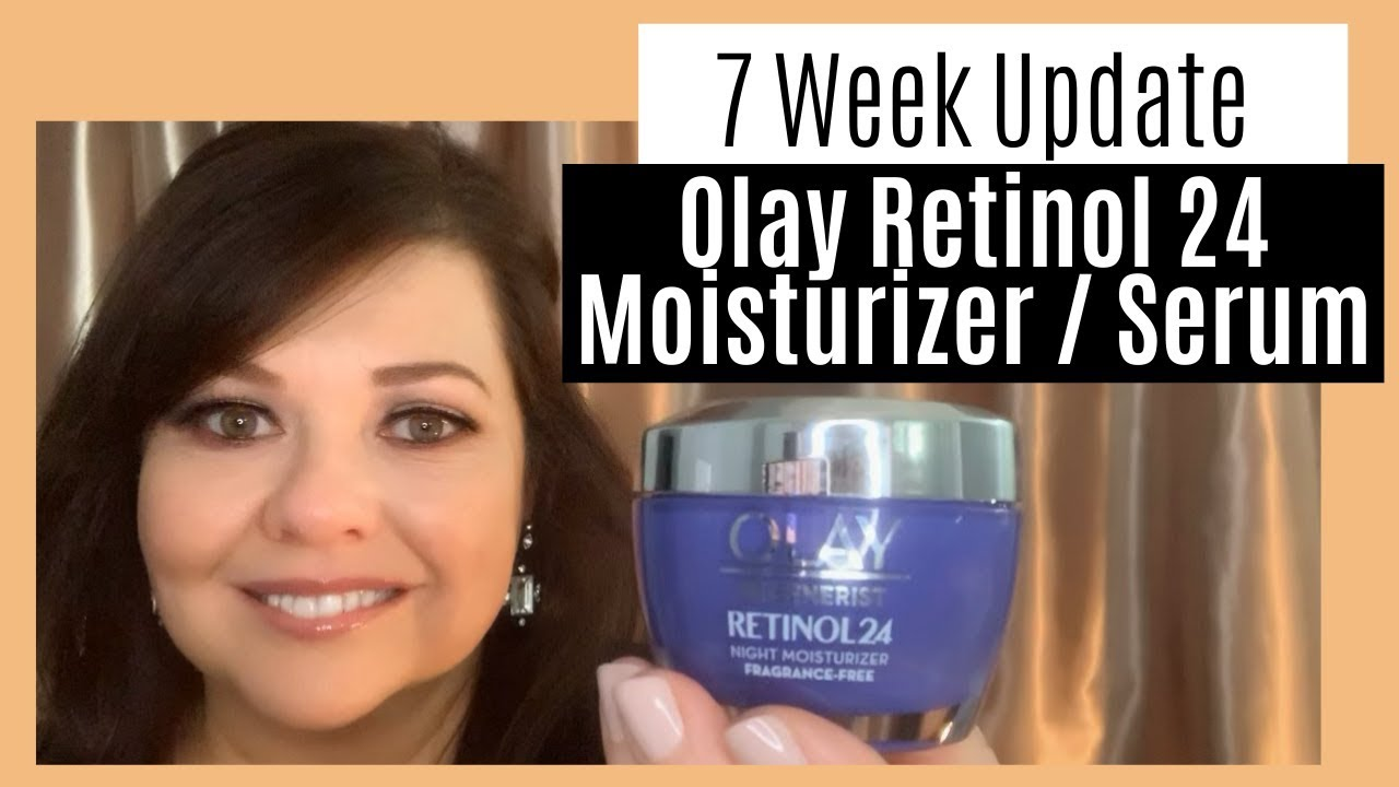 Olay Retinol 24 Update After 7 Weeks Use Results Youtube