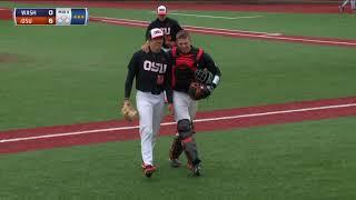 Oregon State Baseball Highlights - 3/24/18 vs. Washington (Game 1)
