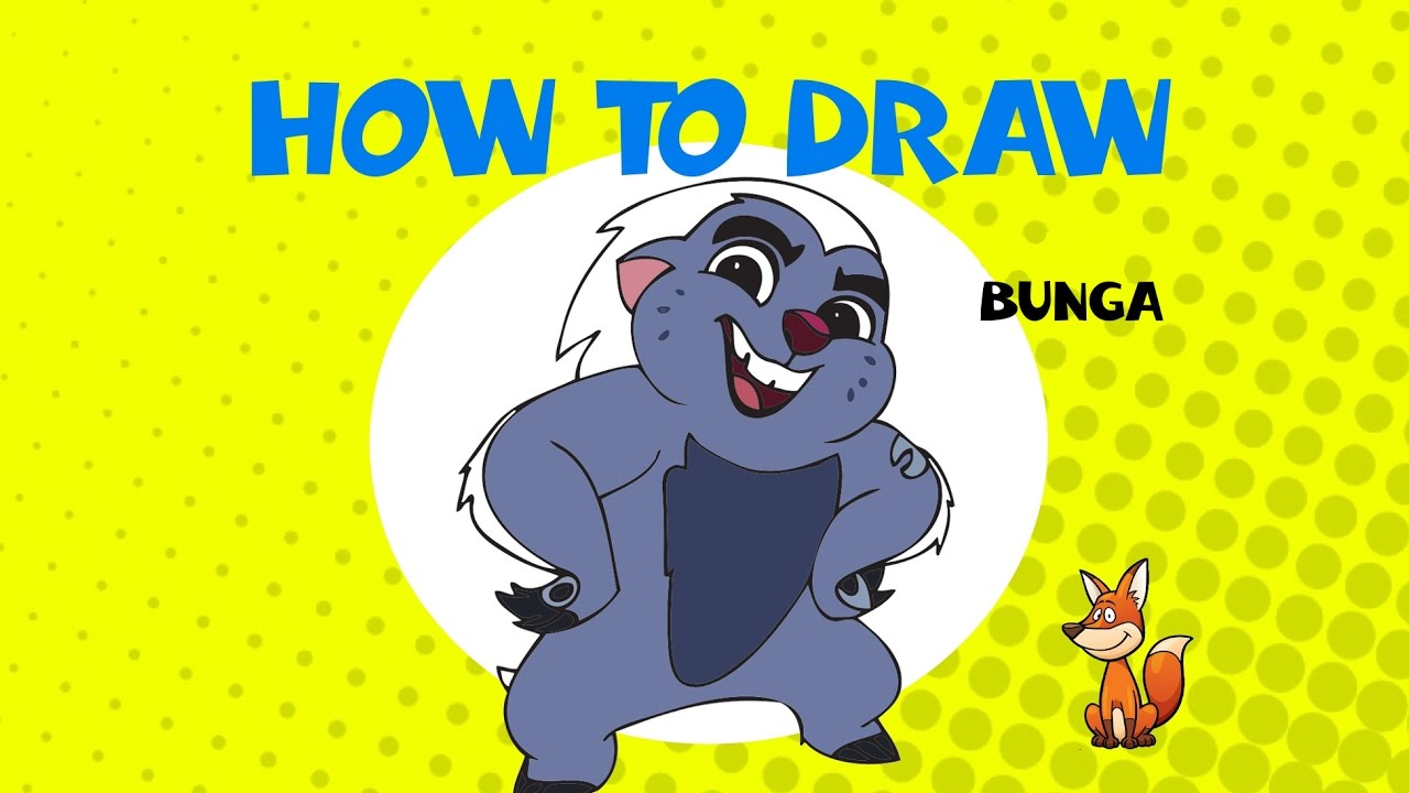 How To Draw Bunga From Lion Guard Learn To Draw Art Lessons Youtube Διάβασε χαρακτηριστικά & πραγματικές αξιολογήσεις χρηστών! how to draw bunga from lion guard learn to draw art lessons
