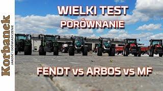 testporwnanie fendt vs massey ferguson vs arbos