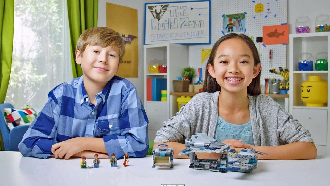 Star Wars - Star Scavenger - LEGO Build Zone - Season 4 Episode 1