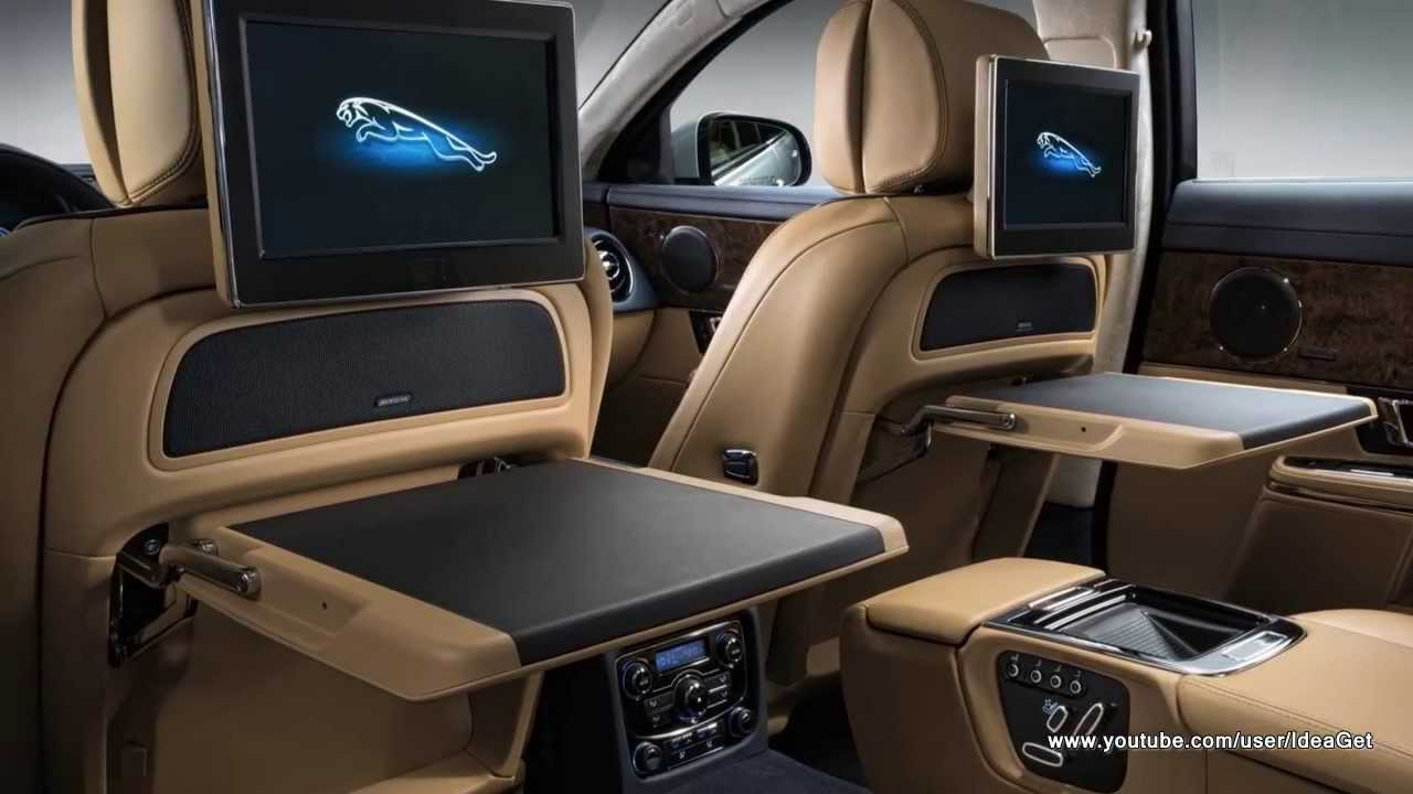 Luxury Interiors 2014 New Jaguar XJ   YouTube