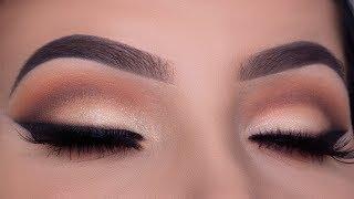 The Perfect Bridal Eye Makeup Tutorial |  Wedding Drugstore Makeup