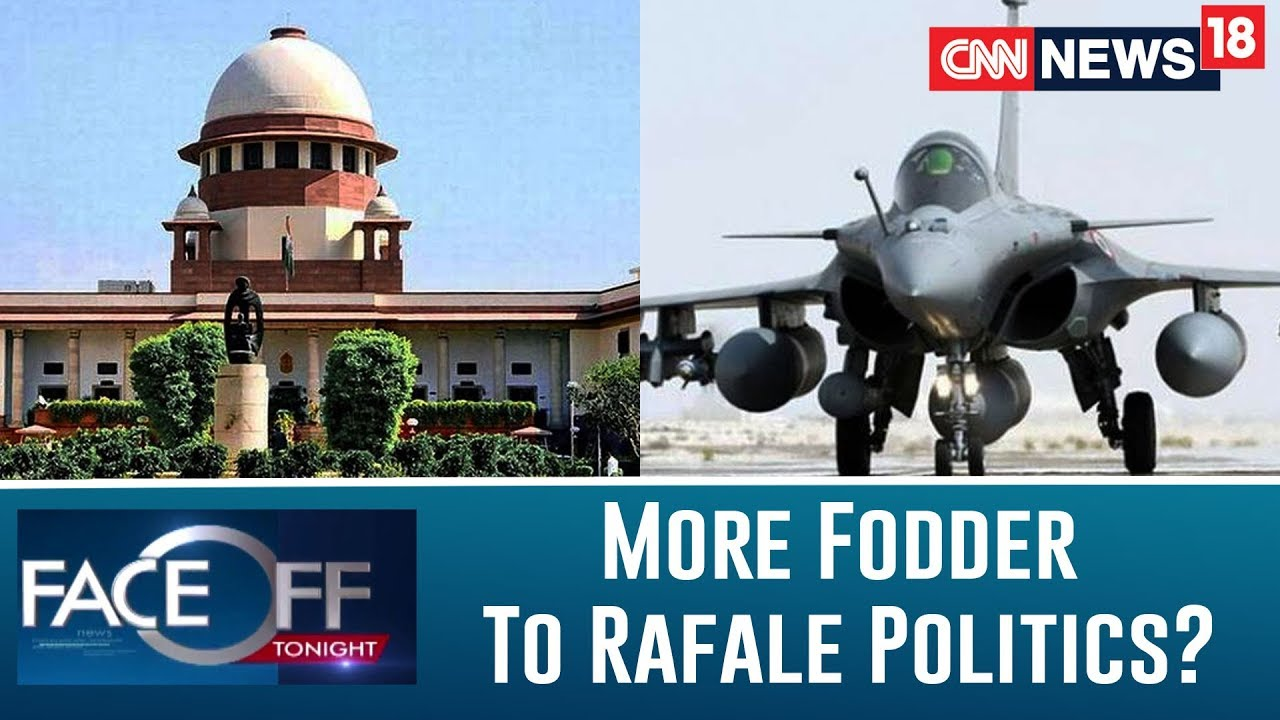 Supreme Court Gives More Fodder to Rafale Politics? | Faceoff