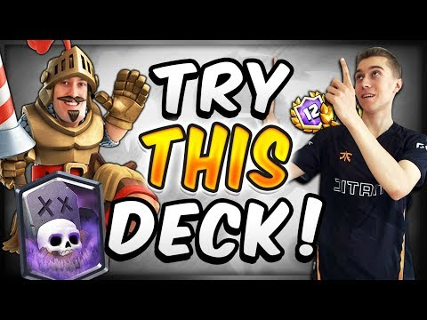 NEW GRAVEYARD DECK WITHOUT FREEZE?! I LOVE THIS DECK — Clash Royale