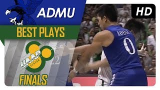 Things get heated between Kib Montalbo and Thirdy Ravena | ADMU | Finals Game 2 | Best Plays