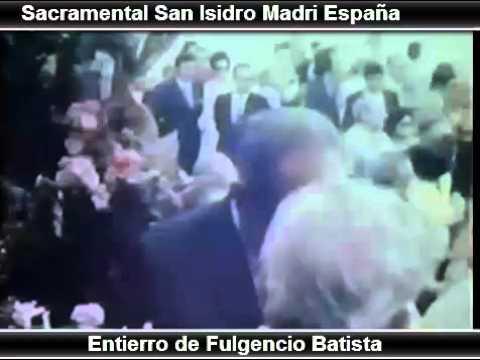 Entierro de Fulgencio Batista