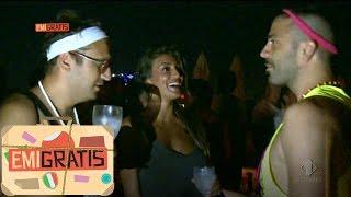 Emigratis con Pio e Amedeo - Si esagera nel Party a Ibiza con Cristina Buccino ,