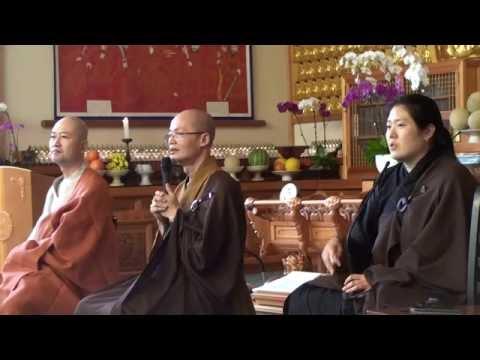 Dharma Talk on Chan Meditation at Korea Sah Buddhist Temple Korea Town 9/11/16