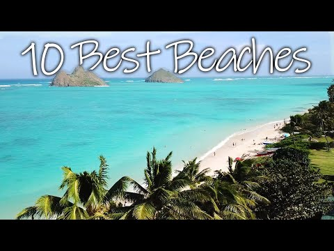 Top 10 BEST And Most BEAUTIFUL Beaches In Hawaii, Oahu! |Tour Guide 2020|