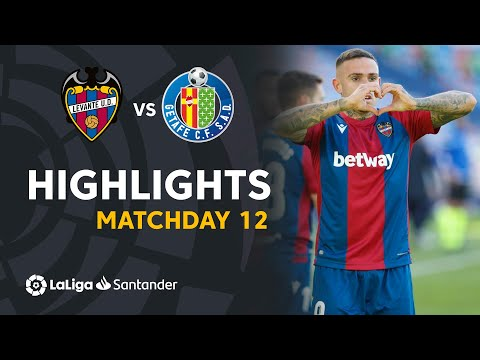 Levante Getafe Goals And Highlights