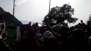 Palmese - Reggio Calabria 0-1 Tifo amaranto (03/04/2016)