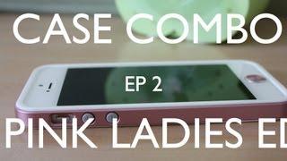 CASE COMBO EP 2 Pink Ladies Edition SPIGEN Slim Metal Case + Aluminum Home Button