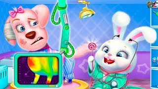 Игра Для Детей Клиника для Питомцев Лечим  и знакомимся с домашними питомцами