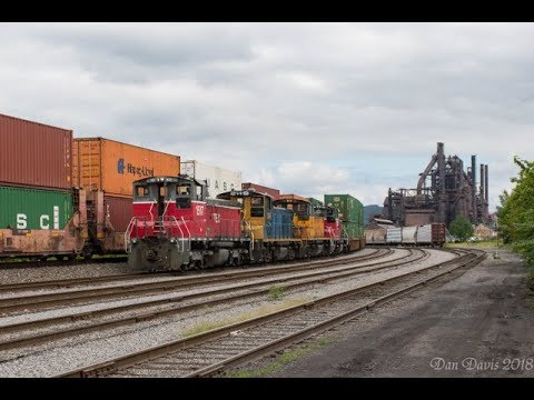Heavy Switching And EMD End Cab Power On The LVRM