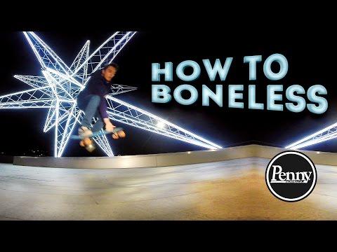 Penny Board трюки: как сделать Boneless? Школа #05