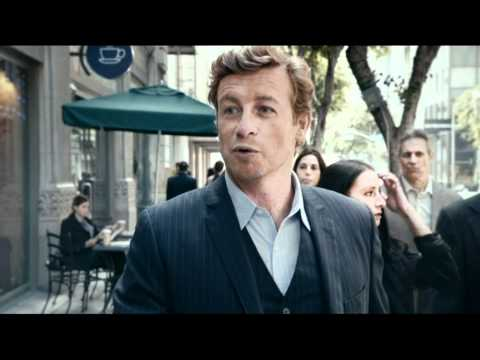 Simon Baker ANZ Advertisement with added pictures of Los Angeles streets and map