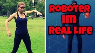 Robot Dance | Robot Dance in Real Life! 🤸 ♂️ | Fortnite Battle Royale