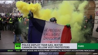 Yellow Vests, round 10: Thousands clash with police on streets of Paris