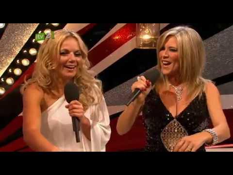 Geri Halliwell and Samantha Fox interview (The Brit Awards 2010)