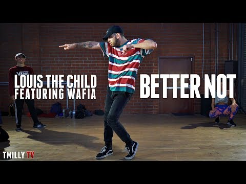 Louis The Child - Better Not ft Wafia - Dance Choreography by Jake Kodish - #TMillyTV
