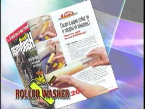 Paint Roller Cover Cleaning Tool