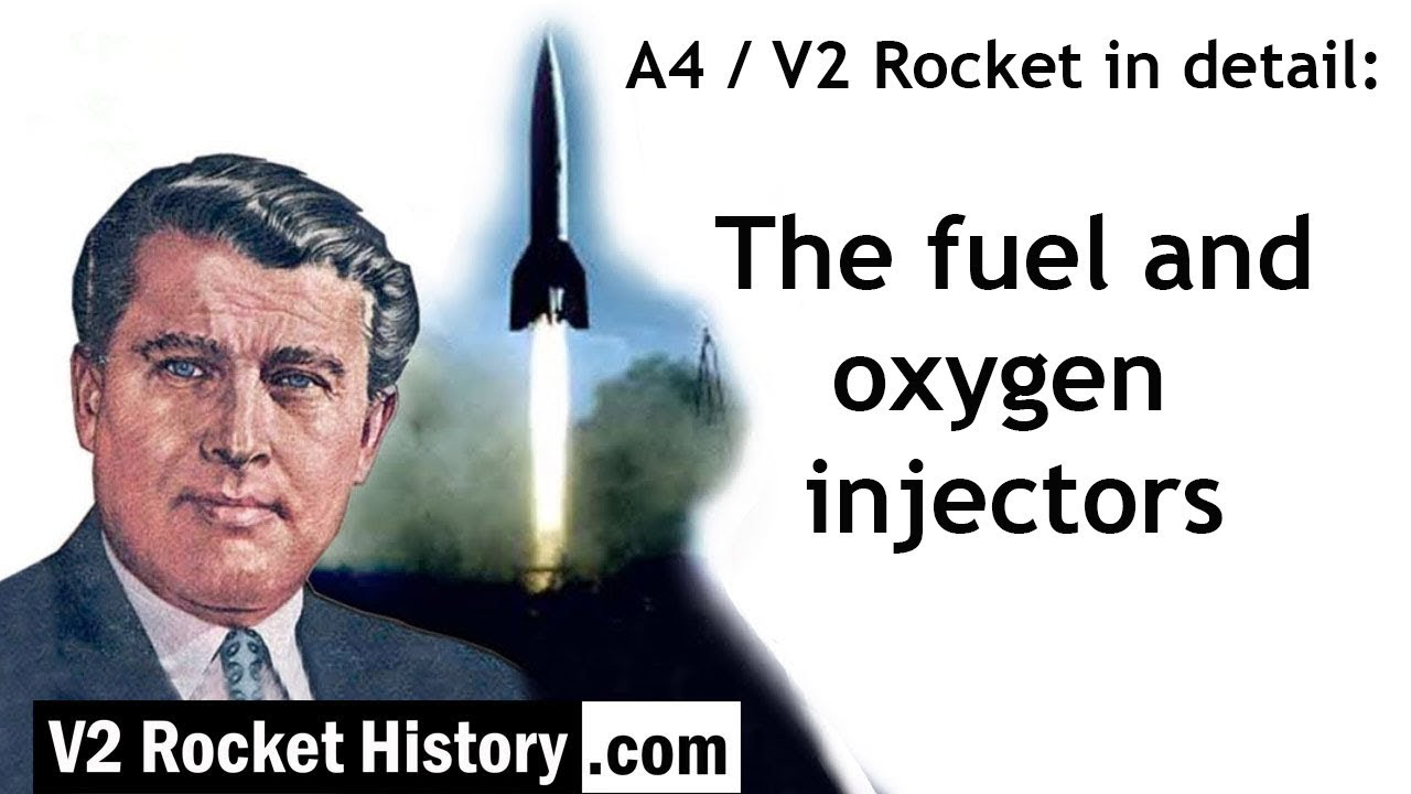 Download A4 / V2 Rocket in detail: fuel and oxygen injectors