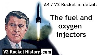 A4 / V2 Rocket in detail: fuel and oxygen injectors