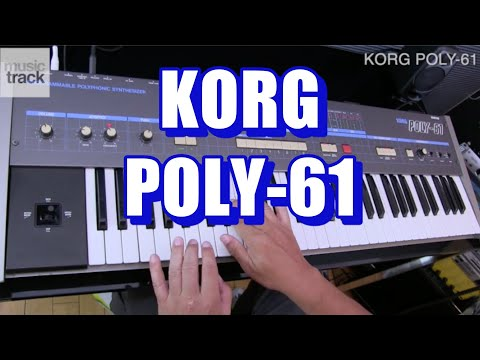 KORG POLY-61 Demo & Review