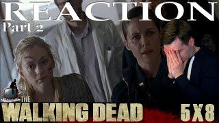 The Walking Dead S05E08 'Coda' Reaction / Review - PART 2