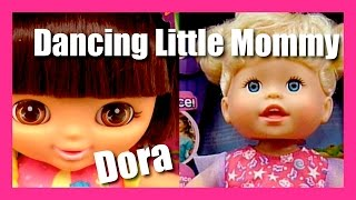 Dora The Explorer Dolls Little Mommy Baby Alive Dolls Potty Training Lalaloopsy DollsDancing Tickle