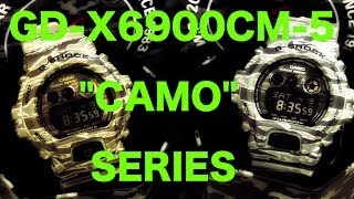 CASIO G-SHOCK REVIEW AND UNBOXING GD-X6900CM-5 CAMOUFLAGE SERIES