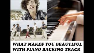 One Direction - What Makes You Beautiful PIANO VERSION