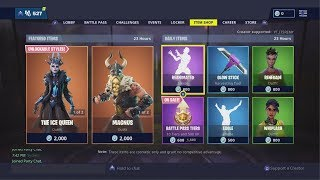 COMPTE À REBOURS DE LA BOUTIQUE D'ARTICLES FORTNITE ! 20 février New Skins! - Fortnite Bataille Royale