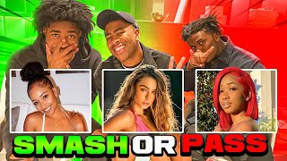 SMASH OR PASS: YOUTUBER AND CELEBRITY EDITION!!! (Kennedy Cymone,Dymond Flawless & MORE!)