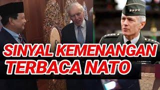 PRABOWO KEDATANGAN EKS PANGLIMA NATO;BUKTI PERGAULAN INTERNATIONAL LUAS;PILPRES 2019;JOKOWI MARUF;