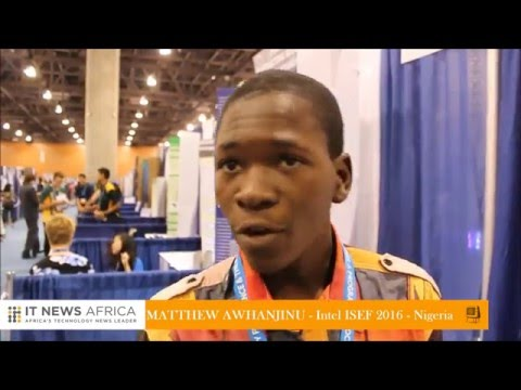 African students shine at Intel ISEF 2016
