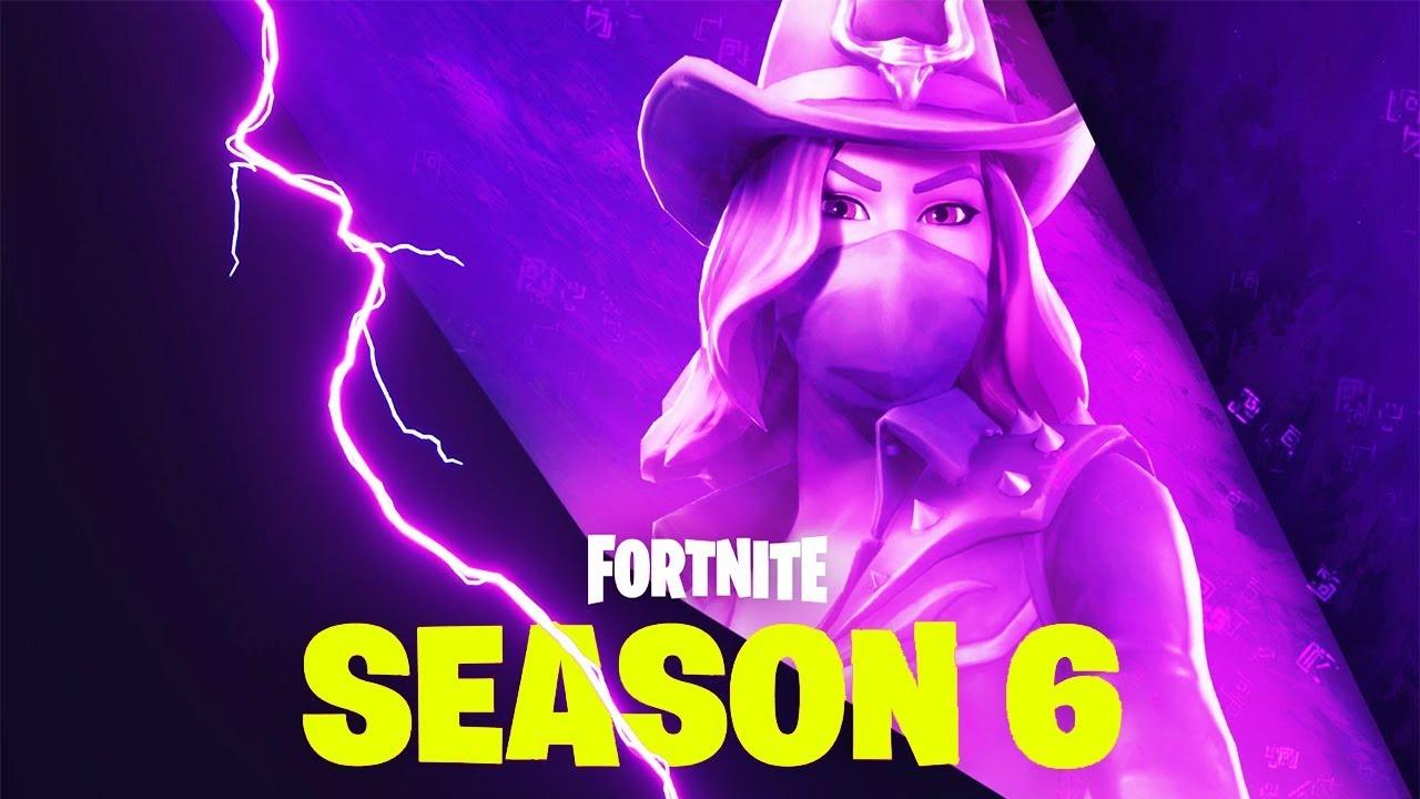 fortnite season6 teamchaos - fortnite season 6 cowgirl skin name
