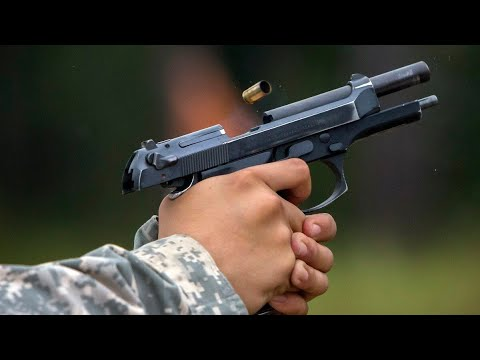 30 Bore Pistol style 9mm Beretta shooting test