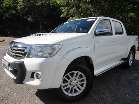 Toyota Hilux 3.0 SRV TOP Automática ano 2014 - Carrage
