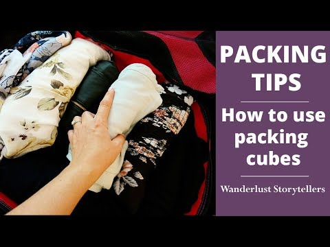 Travel Packing Tips: How to use Packing Cubes!