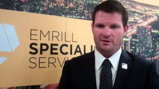 JASON RUEHLAND, MD at Emrill speaks to WILLIAM FARIA
