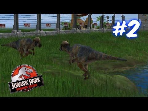 Pachycephalosaurus Duel!!!-Jurassic Park Operation Genesis Ep. #2