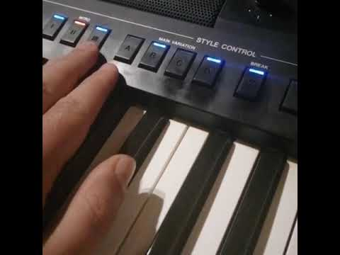 Tea Tairović – Hajde…. Yamaha sound….. Genos, Sx…..